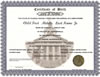 Birth Certificate, MArriage or Divorce Records